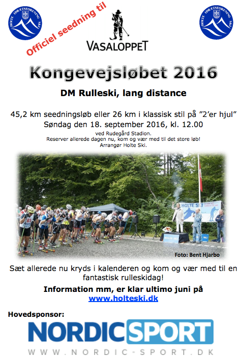 DM seedning plakat